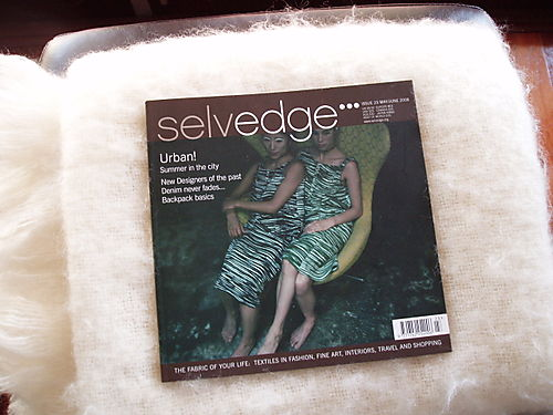 Hurrah craft Selvedge Magazine 23