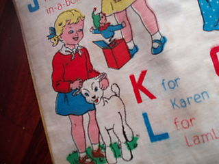 Hurrah Craft Deans Rag Books K is for Karen