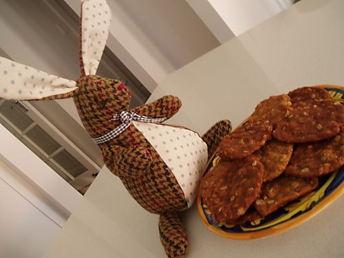 Hurrah craft Potter bunny & anzac biscuits