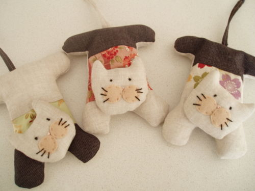 Hurrah Craft Lavender cats