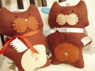 Hurrah Craft Jaunty cats 1 & 10