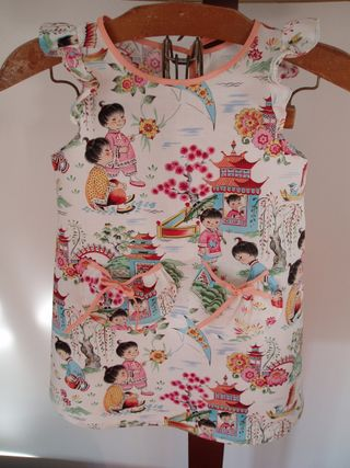 Hurrah craft Amelie birthday dress