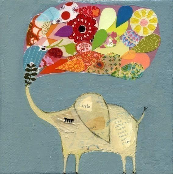 Hurrah craft suspect shoppe lucky elephant print